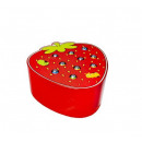 Fishing game catchworms children magnetic strawber
