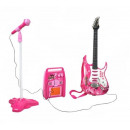 Electric Guitar + Amplifier + Microphone with Stan
