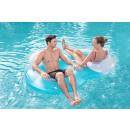 nagyker Kert és barkácsolás: Felfújható úszó fotel dupla a strandon 1