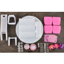 Dining Room Furniture For Doll Table Chairs. Cutle