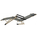 wholesale Garden & DIY store: Deck chair garden lounger sun lounger load capacit