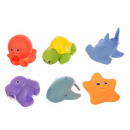 Baby bath toys rubber animals toys bathtub water t