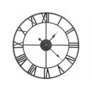 Large metal wall clock 47.5 cm Vintage wall clock