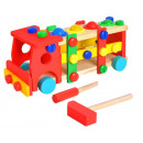 wholesale Toys: Construction Wooden Truck Car Screwdriver Hammer B