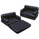 Bestway Air mattress travel bed camping sofa 5in1