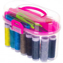 wholesale Haberdashery & Sewing: Sewing set Sewing accessories Sewing box 43 pieces