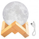 Moon Lamp 8/15 cm Moonlight Deco Lamp 3D printed l
