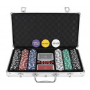 Texas Strong 300 Tokens Poker Set + Suitcase 9554