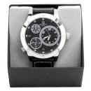 Man chronograph dual time