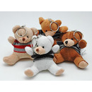 plush key chain teddy bear