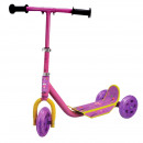 wholesale Kids Vehicles: Scooter 3 wheels  Junior  69cm pink