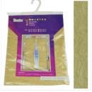 groothandel Vitrage & Gordijnen: Gordijn 260 x 150cm kleur goud