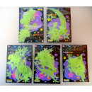 grossiste Stickers mureaux: lot de stickers  muraux  fluorescents ...