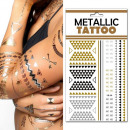 groothandel Piercings & tattoos: Plate No. 9  tijdelijke tattoos metal Ethn