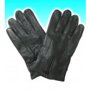 black nappa leather gloves man ""