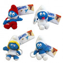 keychains assorted smurf plush 15cm