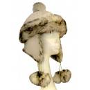 "aviator fur hat with tassels ""for women"""