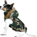 capa del perro con el tamaño de la campana de camu