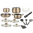 wholesale Pots & Pans: Herzberg HG-8055: Marble Cookware In