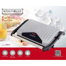 wholesale Barbecue & Accessories: Royalty Line PM-750.1; Panini Grill 750W Silver