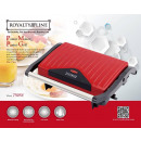wholesale Barbecue & Accessories: Royalty Line PM-750.1; Panini Grill 750W Red