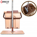 Cenocco CC-9070: Flat Mop With Brown Bucket