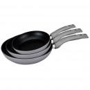 Großhandel Haushalt & Küche: Royalty Line RL-FM3F3: 3er-Set Bratpfannen