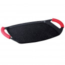 Herzberg HG-7047GP: 47cm Grill Plate Coated With