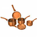 wholesale Haberdashery & Sewing: Herzberg HG-8044COP: Copper Cookware