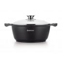 Herzog HR-CAS28M: 28 cm cast iron casserole dish