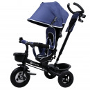 Kinderline TRC-711.1BLUE: Tricycle stroller for