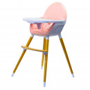 wholesale Child and Baby Equipment: Kinderline WHC-701.1PINK: High chair Pod ...