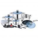 Mayerhoff CS-16-WR: Stainless Steel Cookware Set