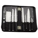 Großhandel Messersets: Mayerhoff MH-KN09-K: Satz von 9 Messern mit s