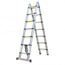 groothandel Tuin & Doe het zelf: Herzberg HG-5440; Telescopische ladder 4m 40