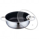 wholesale Pots & Pans: Peterhof PH-25306; Saucepan in stainless steel wit