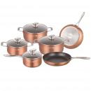 Royalty Line RL-FM10C: 10 piece cookware set