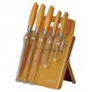 mayorista Conjuntos de cuchillos: Royalty-Line RL- GLD7ST-W Juego de cuchillos de 7