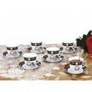 Zillinger ZL 741; Tea service for 6 people