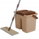 groothandel Reinigingsproducten: Cenocco CC-9070: Platte dweil met bruine emmer
