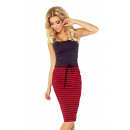 wholesale Skirts: 127-1 SKIRT with pockets and drawstring - stripes