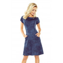 Großhandel Jeanswear: 155-2 TRAPEZO Kleid mit Taschen - JEANS CIE