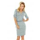 Großhandel Pullover & Sweatshirts: 161-3 AGATA - Pulloverkragenkleid -