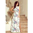 groothandel Kleding & Fashion: 191-6 MAXI-jurk in de nek gebonden met een split -