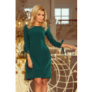 wholesale Dresses: 195-1 ALICE Dress with bows - GREEN