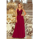 wholesale Dresses: 211-2 LEA long sleeveless dress with lace d