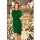 Großhandel Röcke: 240-1 ROXI Kleid mit asymmetrischem Rock und Gürte
