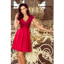 wholesale Dresses: 242-2 ANNA dress with a neckline and lace - Bordea