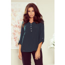 wholesale Shirts & Blouses: 259-2 Blouse with buttons - GREEN