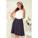 wholesale Skirts: 266-1 Flared MIDI skirt with pockets -